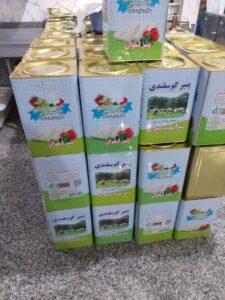 قیمت پنیر لیقوان ۱۷ کیلویی حلب